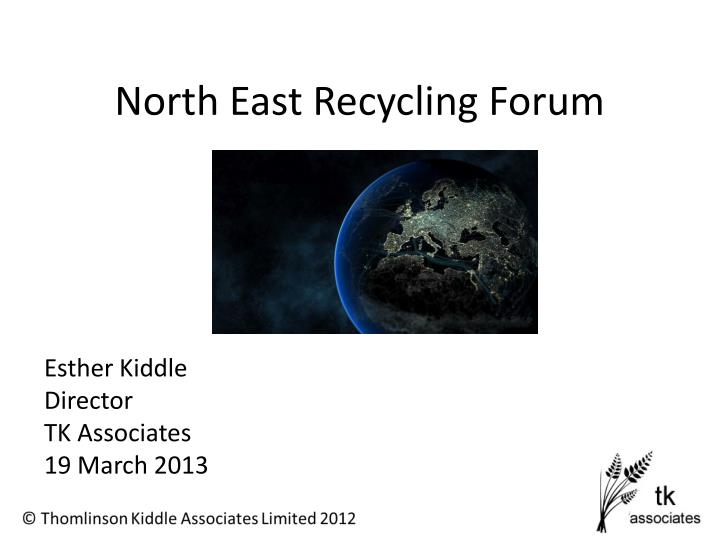 north east recycling forum n.