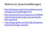 references downloadmanager