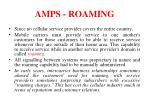 amps roaming