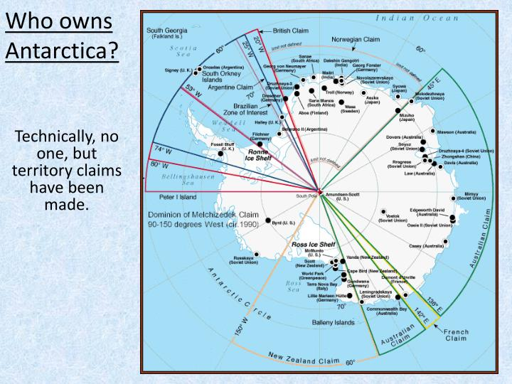Who owns antarctica