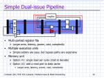 simple dual issue pipeline1