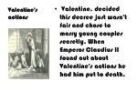 valentine s actions