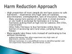 harm reduction approach