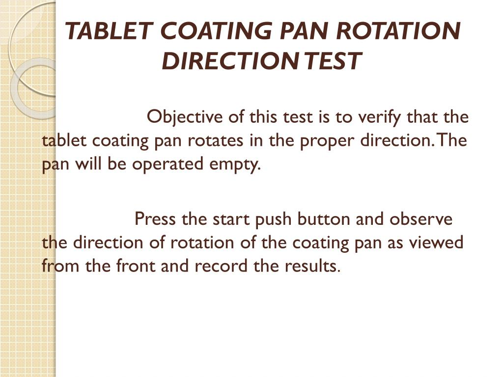 PPT - COATING PANS PowerPoint Presentation - ID:2246444