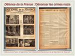 d fense de la france d noncer les crimes nazis
