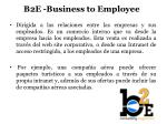 b2e business to employee