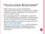 alexander koenders