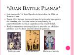 juan battle planas