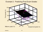 example 2 predicting final exam grades3