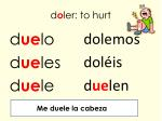 d o ler to hurt
