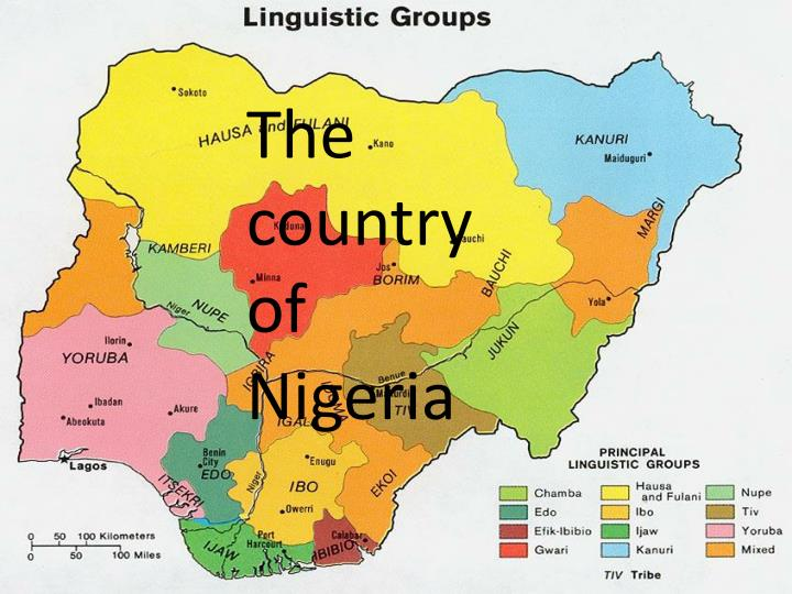 the country of nigeria n.