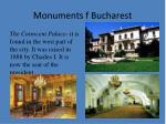 monuments f bucharest