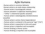 a o humana