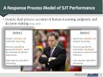 a response process model of sjt performance