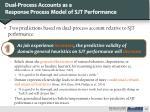 dual process accounts as a response process model of sjt performance