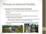 threats to external validity4