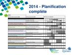 2014 planification compl te
