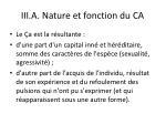 iii a nature et fonction du ca3