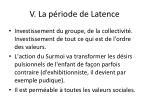 v la p riode de latence3