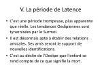 v la p riode de latence5