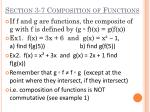 section 3 7 composition of functions