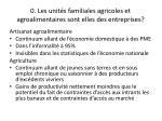 0 les unit s familiales agricoles et agroalimentaires sont elles des entreprises