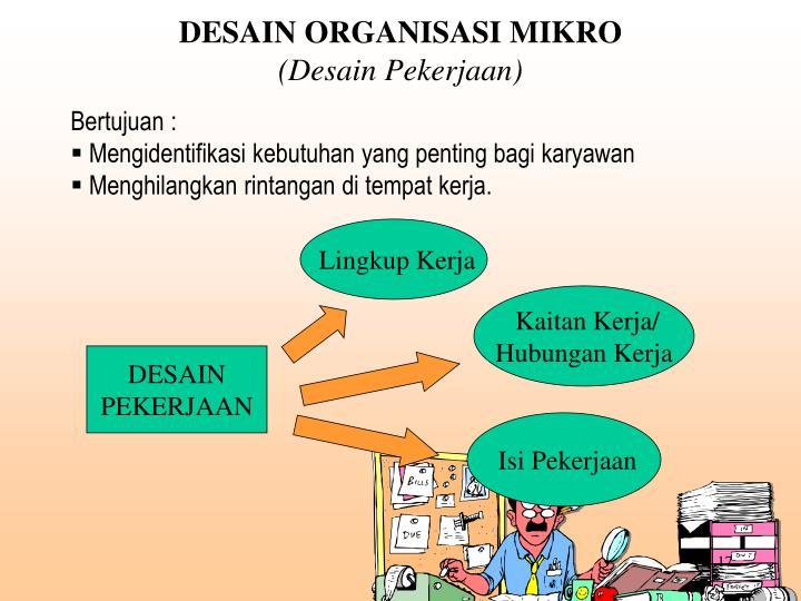 PPT - STRUKTUR DAN DESAIN ORGANISASI PowerPoint ...