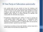 iv van parijs et l allocation universelle