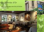 la colombe d or