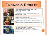 findings results1