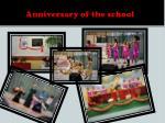 anniversary of the school