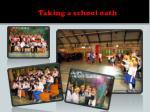 taking a school oath
