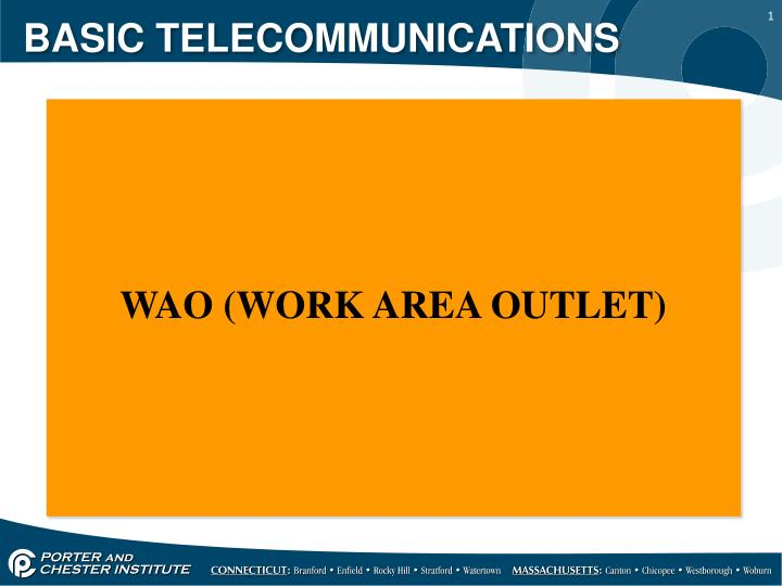 basic telecommunications n.