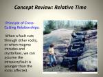 concept review relative time2