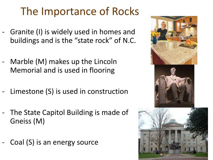 The Importance of Rocks
