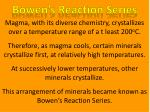 bowen s reaction series1