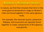 bowen s reaction series4
