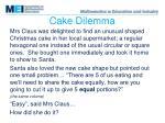 cake dilemma