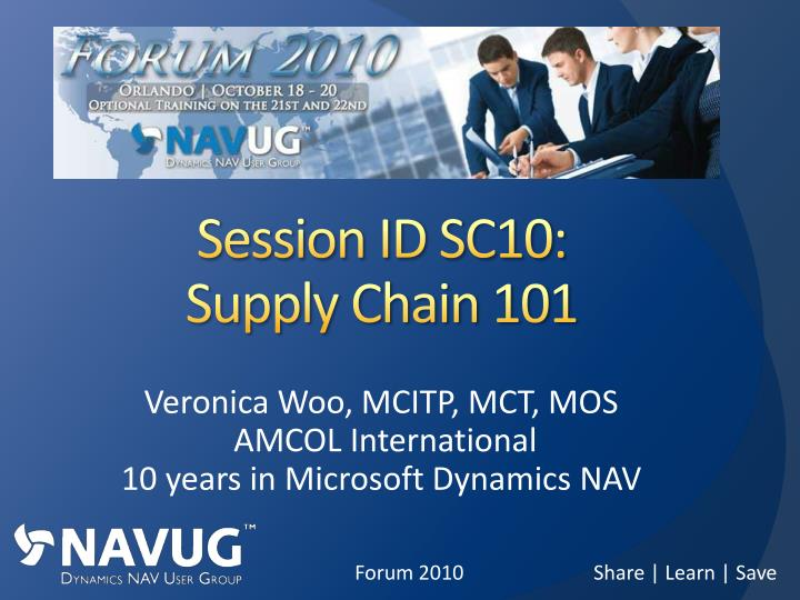session id sc10 supply chain 101 n.