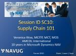 session id sc10 supply chain 101