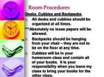 room procedures4
