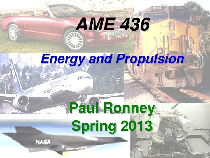 ame 436 energy and propulsion n.