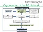 organisation of the bis network