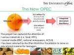 the new opec