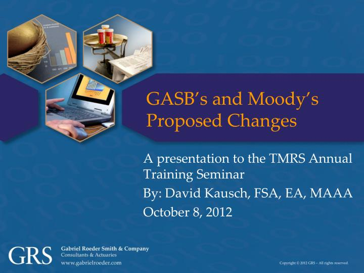 gasb s and moody s proposed changes n.