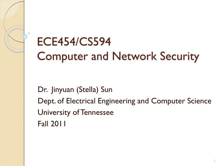 ece454 cs594 computer and network security n.