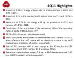 4q11 highlights