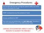 emergency procedures1