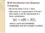 brief introduction into quantum computing1