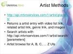 artist methods